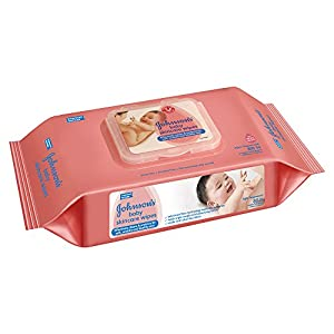 Johnson'S Baby Wipes With Lid Combo Offer Pack, 2 X 80S (160 Wipes) And Johnson'S Baby Oil With Vitamin E (200Ml)