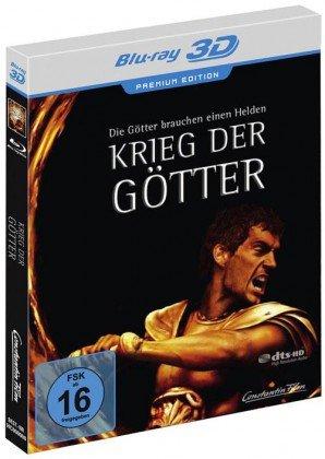 Bild von Krieg der Götter - Premium Steelbook Edition - 3D+2D [Blu-ray]