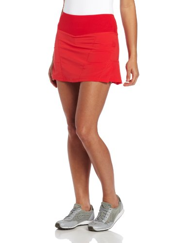 Bolle Essentials Woven Stoff Ziehen Auf Rock Gr. X-Large, rot (Spandex Woven Skirt)