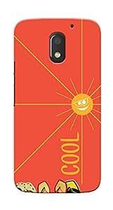 Kaira High Quality Printed Designer Back Case Cover For Motorola Moto E3 Power(Cool)
