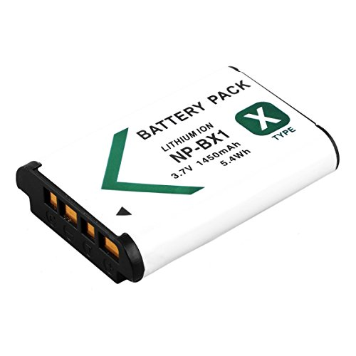 BPS NP-BX1 1450mAh Rechargeable Li-ion Battery for Sony Cyber-Shot DSC-HX400 ,DSC-WX350, DSC-H400,DSC-RX100,DSC-HX60,DSC-HX50,DSC-HX80,DSC-WX300,DSC-HX300,DSC-RX1 Digital camera Replacement of Sony NP BX1 battery.