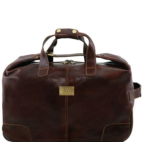 TUSCANY LEATHER: BARBADOS - Trolley Ledertasche