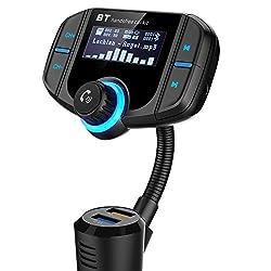 L'appareil est utilisé avec le lecteur MP3 Bluetooth pour une utilisation dans la voiture, il est équipé d'un module Bluetooth professionnel de haute performance et d'une puce de décodeur MP3. Pour cette raison, il envoie le signal sans fil, sans rie...