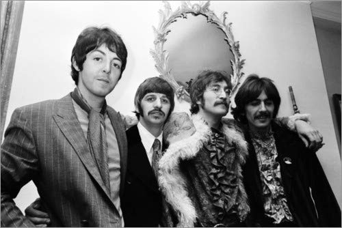 Posterlounge Lienzo 180 x 120 cm: The Beatles Everett