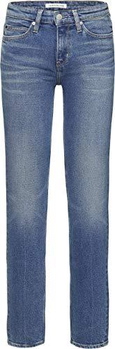 Calvin Klein CK Jeans Vaqueros para Mujer Azul Chico Blue 27W 32L