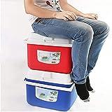 Plastic Insulation Box Freezer Home Car Outdoor Cold Storage Fresh Large Ice Bucket Tank Non-Refrigerant Cubes Cooler Bag Picnic retain Freshness borne 5l Organizer Medicine