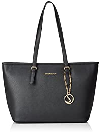 Stonefly SHOPPING MICHELA Damen Shopper 47x28.5x17.5 cm (B x H x T), Schwarz (000 BLACK)