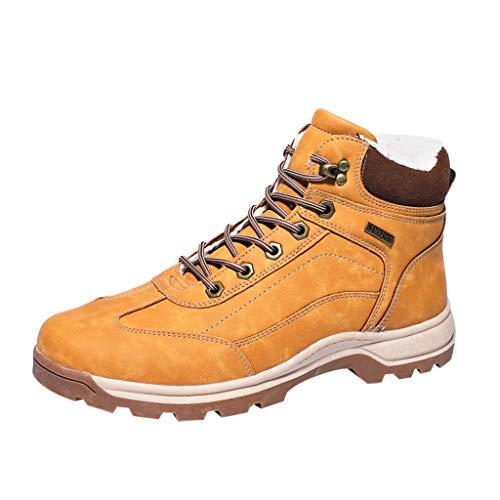➤Refill➤Herren-Stiefel,Trekking- und Wanderschuhe für Herren, Winterschuhe Winterstiefel mit Warm Gefüttert, Gr. 39-63 Schneestiefel Warm Gefütterte Stiefelette Outdoor Boots -