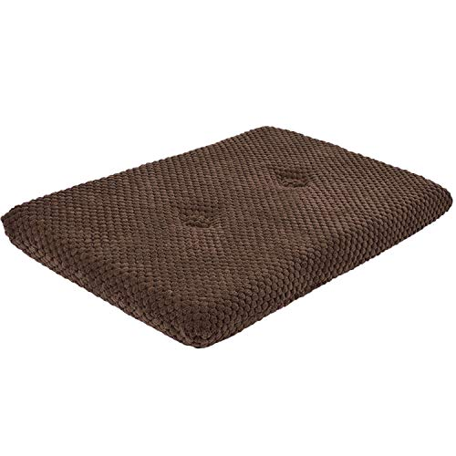 2 x Brown Cat Kitten Spot Pet Window Cushion Pillow Mat Resting Pad Seat Sleeping Bed Sofa Mattress Soft Warm Comfy