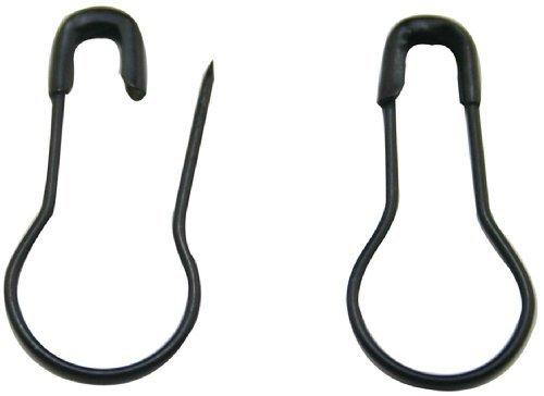 'butterme 300/500/10000,8metal negro agujas/ropa de seguridad pines Broche/colgante/Talisman/calabaza Pin/incluida de Pin/Calabash Pin Bead Needle Pins DIY accesorios, 100 Stk