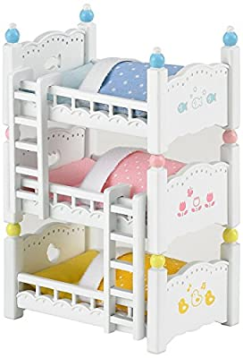 Sylvanian Families Triple Bunk Beds - inexpensive UK light shop.
