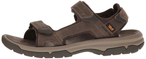 Teva Herren Langdon Sandal M's, Braun (Walnut), 44.5 EU -
