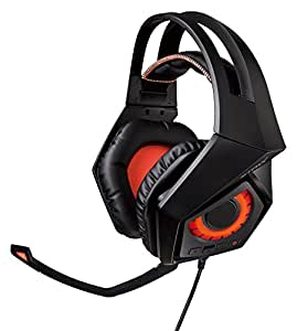 rog strix wireless gaming headset 7 1 surround for pc ps4 webcams voip equipment › pc headsets