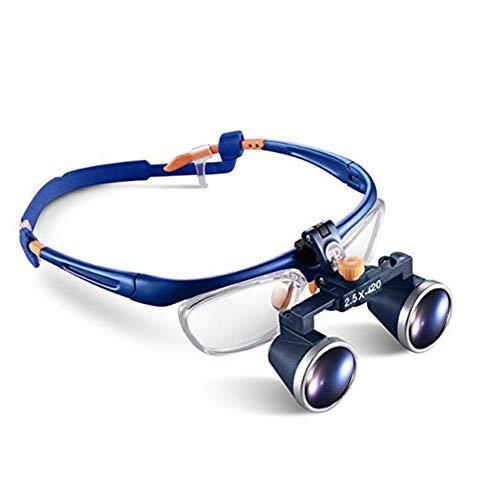HyaPen 2.5X 420Mm Chirurgico Medico Binoculare Lente d'Ingrandimento Ottico Bicchiere Registrazione Occhiali Telaio Binoculare Ingrandimento Bicchieri