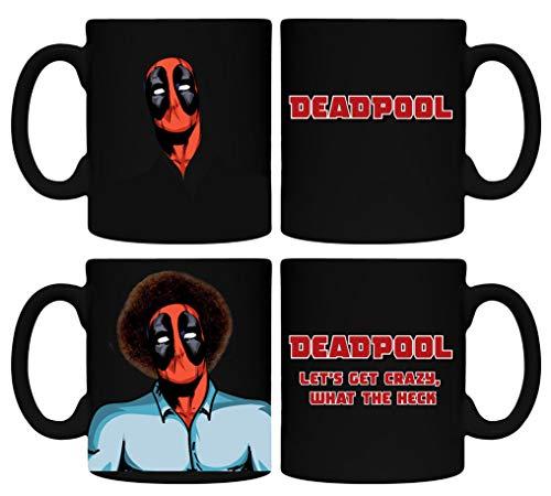 Bob Ross Deadpool Tasse Kaffee wärmeempfindlicher ()