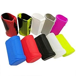 Schutzhülle für Geekvape AEGIS 100 W MOD Akkuträger Silikon Case Skin (Schwarz/Rot)