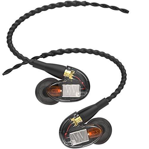 Westone UM Pro 10 In-Ear-Monitor mit einem Balanced-Armature Treiber und austauschbarem Kabel (2017er Version)
