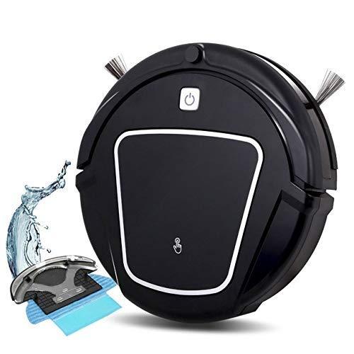 TYUIO Aspirapolvere Robot con Serbatoio d'Acqua, Ottimo per peli di Animali Domestici, tappeti, Pavimenti dure