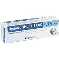 Preisvergleich für Hydrocortison Hexal 0,5%, 20 g Creme