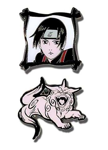 Naruto Shippuden Sai and Imitation Beast (Set of 2) Pins