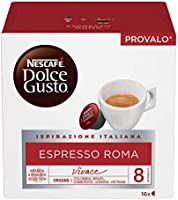 Nescafé Dolce Gusto NESCAFÉ Dolce Gusto espresso caffè espresso 6 confezioni da 16 capsule 96 capsule