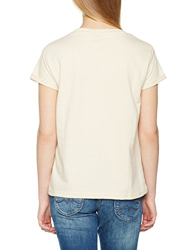 Pepe Jeans Naomi, T-Shirt Femme Beige (Candle)
