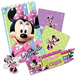 Minnie Mouse Stationery Pack 20pc -Bow-tique