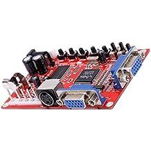 MagiDeal VGA A CGA / CVBS / S-Video HD Arcade Video Game Converter Tablero GBS-8100
