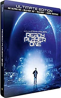 Ready Player One - Edition limitée Steelbook - Blu-ray 4K HDR + Blu-Ray 3D + Blu-ray + Digital copy (B07BQPXRV6) | Amazon price tracker / tracking, Amazon price history charts, Amazon price watches, Amazon price drop alerts