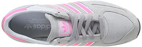 adidas La Trainer, Chaussures de running femme Gris (Aluminum 2/Neon Pink/Light Grey)