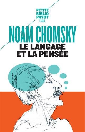 Le langage et la pensée par Noam Chomsky