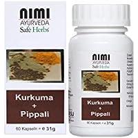 Nimi - Kurkuma + Pippali Extrakt - 60 Stück preisvergleich bei billige-tabletten.eu