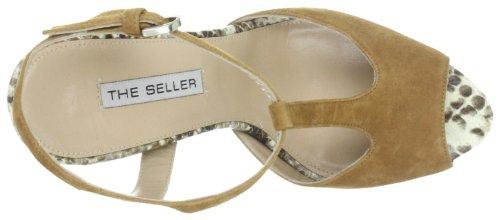 The Seller Aloisa S493, Sandales femme Marron-TR-K2-42