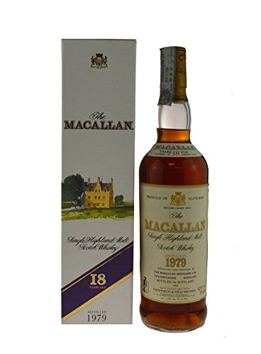 Rarität: The Macallan Whisky Jahrgang 1979 - Single Highland Malt Scotch Whisky