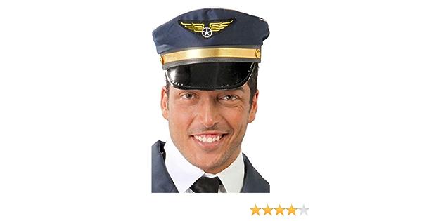 13066 Blu Guirca Aviatore Cappello da Pilota per Adulti