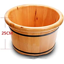 XWG Foot Bath Pied Barrel Foot Massage Bassine Bois Foot Bath bain de pieds Bois Bassin Bois Barrel foot bath bucket ( taille : 1 )