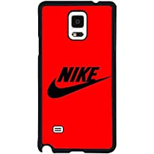 Nike Samsung Galaxy Note 4 Case, Anti Scratch Thin Hard Back Case Fit para Note 4, compatible con Samsung Galaxy Note 4, color multicolor