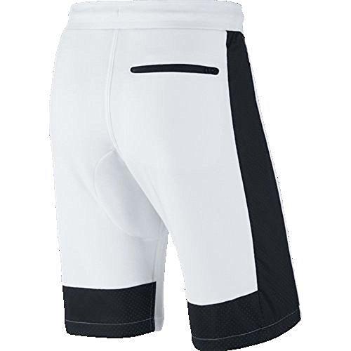 Preisvergleich Produktbild Nike Air Hybrid Fleece Shorts Weiß / Schwarz Herren Gr. 3 X L 727363–100