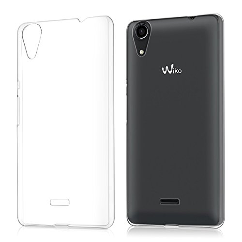 kwmobile Wiko Rainbow Lite Hülle - Handyhülle für Wiko Rainbow Lite - Handy Case in Transparent