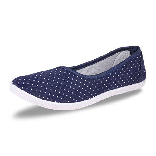 Fabbmate Latest Collection, Comfortable & Fashionable Bellies for Women's and Girl's Pack of 1 Blue