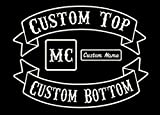 Custom Patch Vest Biker Motorcycle Rocker Name Patches for Jackets