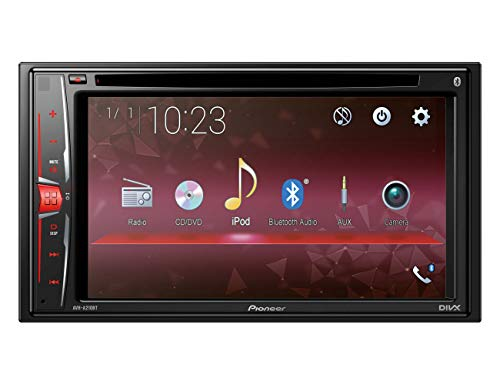 Pioneer Electronics AVH-A210BT 2DIN Autoradio, 6,2 Zoll Touchscreen, Bluetooth, Freisprecheinrichtung, Media-Receiver für Audio Video CD DVD USB (2din Bluetooth Pioneer)