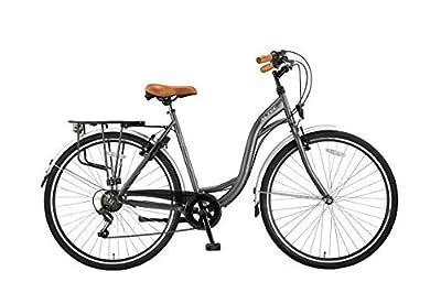 Altec 28 Zoll Damen CITYFAHRRAD City Bike Fahrrad CITYRAD CITYBIKE Rad Shimano 7 Gang Milano GRAU