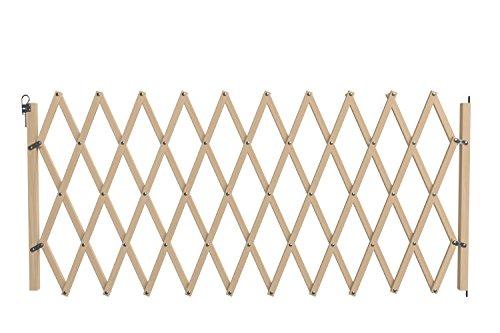 Nordlinger Pro 742011Stop' Max-Barrera de madera extensible extragrande para animales