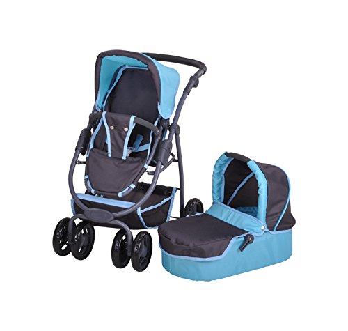 Knorrtoys 90780muñeca Carro Coco Tec Blue