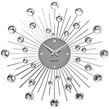 Karlsson KA4860 - Reloj de pared mediano, cristal