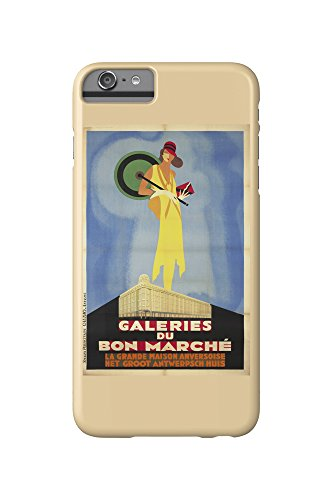 galeries-du-bon-marche-vintage-poster-belgium-c-1929-iphone-6-plus-cell-phone-case-slim-barely-there