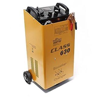 Wiltec Batterieladegerät Batterie 12V 24V Ladegerät Akkuladegerät Boost 630