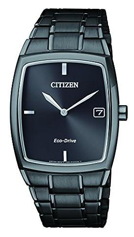 Citizen Herren-Armbanduhr Analog Quarz Edelstahl beschichtet AU1077-83H