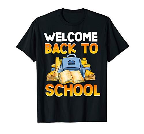 Willkommen zurück in der Schule Niedliche Lehrer Schüler T-Shirt